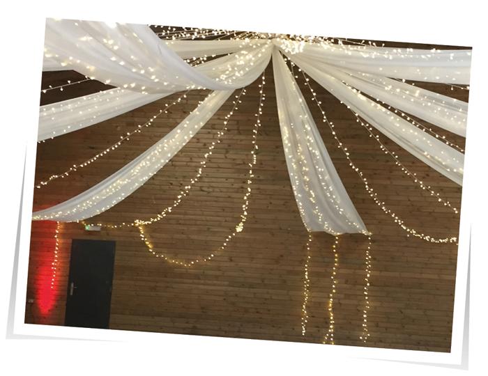 Fiary-Light-Drapes Wedding Lights Devon