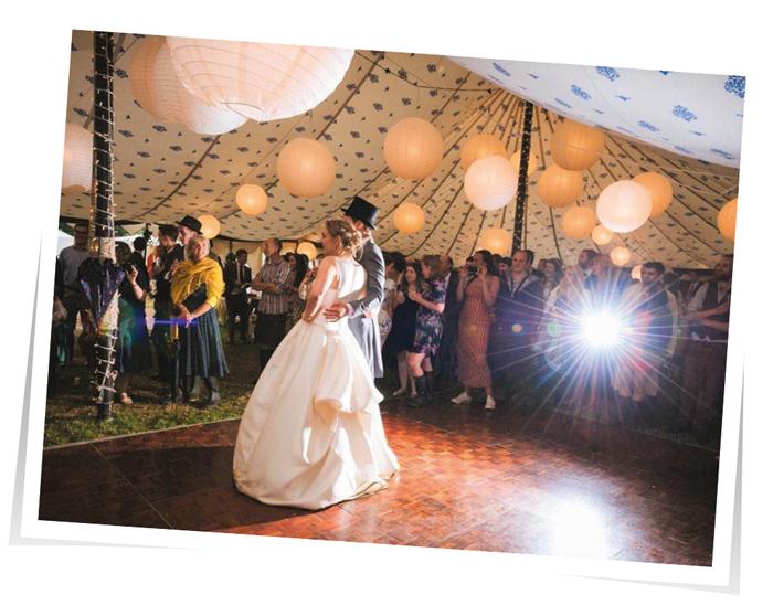 Lantern Marquee Lighting Wedding South West