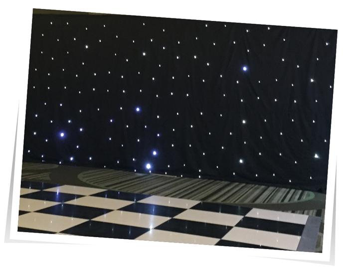 Starcloth Wedding Lighting