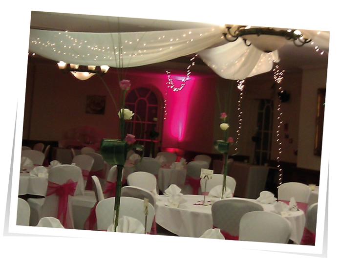 Uplights Wedding Lights Devon