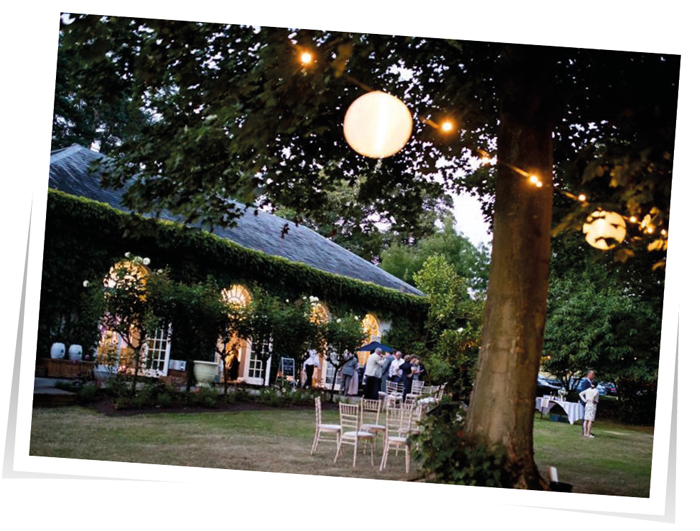 External Lighting Wedding Devon