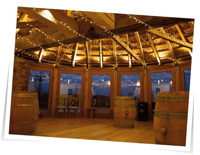 Lighting at the Brickhouse Vineyard
